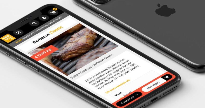 Nieuwe webshop voor BBQenzo.nl